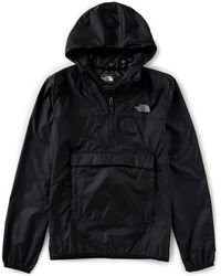 The North Face - Fanorak Anorak Windwall Water-resistant Hoodie - Lyst