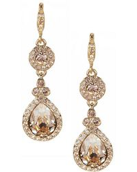 Givenchy | Crystal Drop Earrings | Lyst