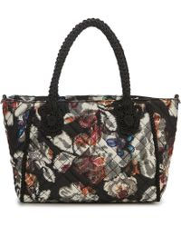 Betsey Johnson - Quilted Floral Satchel - Lyst