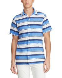 36e10a44dd76a Lyst - Polo Ralph Lauren Hawaiian-print Patchwork Camp Shirt for Men
