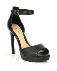 Jewelson Jewel Embellished Platform Dress Sandals