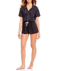 Splendid - 2-piece Woven Pajama Set - Lyst