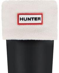 HUNTER - Fleece Short Boot Socks - Lyst