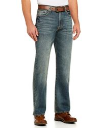 Lucky Brand 181 Relaxed-fit Straight-leg Jeans - Blue