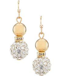 Dillard's - Fireball Drop Earrings - Lyst