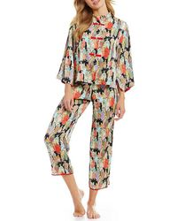 Natori - Dynasty Satin Pajamas - Lyst