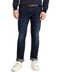 Polo Ralph Lauren Varick Slim Straight Jean - Blue