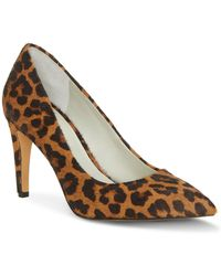 1.STATE - Hedde2 Leopard Printed Dyed Calf Hair Shooties - Lyst