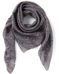 Antonio Melani - Made With Liberty Fabrics Tessa Square Silk Chiffon Scarf - Lyst
