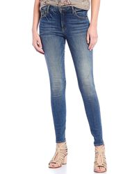 Kut From The Kloth - Mia Fab Ab Fit Technique Toothpick Skinny Jeans - Lyst