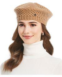 Lauren by Ralph Lauren - Ladies' Textured Knit Beret - Lyst