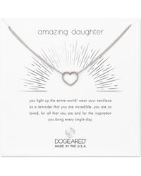 Dogeared - Amazing Daughter Necklace - Lyst