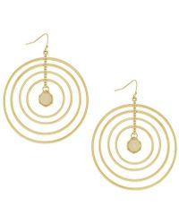 Jessica Simpson - Opalescence Multi Ring Earrings - Lyst