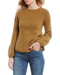 Chelsea & Violet - Balloon Sleeve Sweater - Lyst