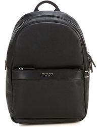 26c7d668f7ba Lyst - Michael Kors Odin Leather Backpack in Black for Men