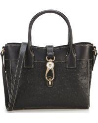 Dooney & Bourke - Ostrich Collection Amelie Tote - Lyst