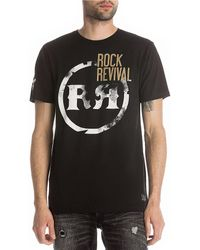 Rock Revival - Short-sleeve Circle T-shirt - Lyst