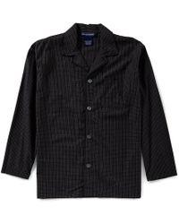 Polo Ralph Lauren - Long Sleeve Woven Soho Plaid Pajama Top - Lyst