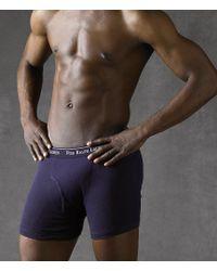 Polo Ralph Lauren - Classic-fit Cotton Boxer Brief 3-pack - Lyst