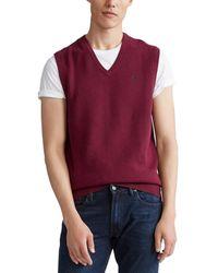 Polo Ralph Lauren Textured Sweater Vest - Multicolour