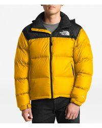 The North Face Yellow Down 1996 Retro Nuptse Jacket