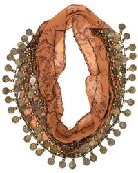 Patricia Nash - Italian Coin Collection Scarf - Lyst