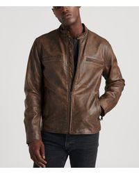 Lucky Brand Vintage Leather Jacket - Brown