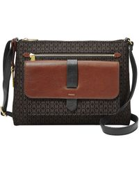 Fossil Kinley Zip Top Crossbody Bag - Multicolor
