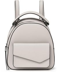 Botkier Cobble Hill Leather Mini Zip Backpack - Multicolor