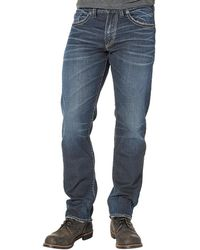 Silver Jeans Co. - Big & Tall Eddie Relaxed-fit Tapered Denim Jeans - Lyst