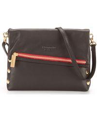 Hammitt Vip Fold-over Crossbody Bag With Contrast Zipper - Multicolor