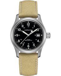 Hamilton - Khaki Field Mechanical Watch - Lyst