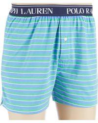 Polo Ralph Lauren - Striped Knit Boxers - Lyst