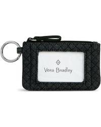 Vera Bradley - Denim Iconic Zip Id Case - Lyst