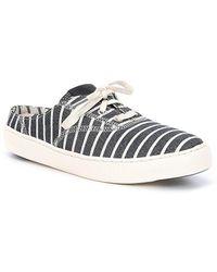 GrandPro Deck Stripe Slip-On Sneaker Mules hxUl77g