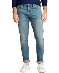 9affef1bc Polo Ralph Lauren Sullivan Slim-fit Distressed Jeans In Lockwood in Blue  for Men - Lyst