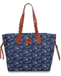 Dooney & Bourke - Nfl Houston Texans Braided-handle Shopper - Lyst
