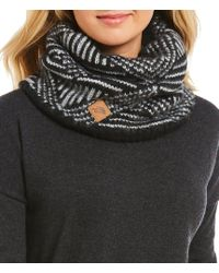 The North Face - Chunky Tube Scarf - Lyst