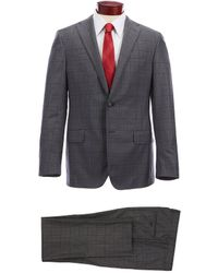 Hickey Freeman - Classic Fit Windowpane Wool Suit - Lyst