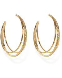 Vince Camuto - Peekboo Hoop Earrings - Lyst