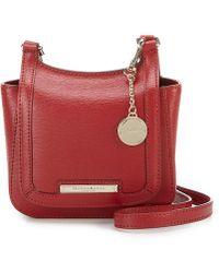 42c9c7a73 Dillard's. Donna Karan - Small Flap Saddle Cross-body Bag - Lyst