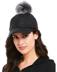 Ugg | Sheepskin Baseball Hat | Lyst