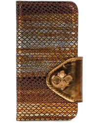 Patricia Nash - Metallic Snake Collection Alessandria Phone Wallet - Lyst