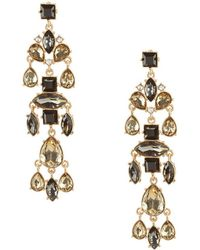 Belle By Badgley Mischka - Mystical Shaky Linear Earrings - Lyst