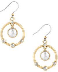 Lucky Brand - Drop Orbital Earrings - Lyst
