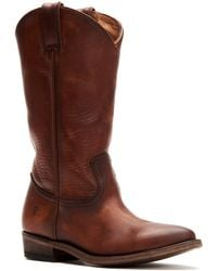 Frye - Billy Leather Pull On Boots - Lyst