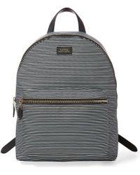 Lauren by Ralph Lauren - Chadwick Striped Canvas Backpack - Lyst
