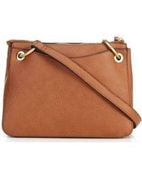 Sole Society Nayah Medium Crossbody Bag - Brown