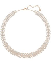 Swarovski - Baron Crystal Collar Necklace - Lyst