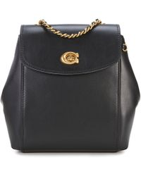 COACH - Parker Leather Chain Handle Backpack - Lyst